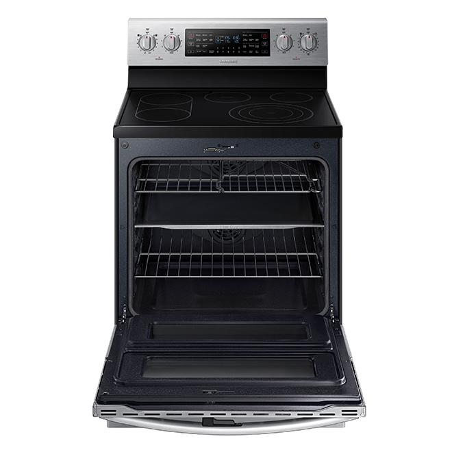 Self-Cleaning Range with 3-in-1 Oven- 5.9 cu. ft.- Stainless