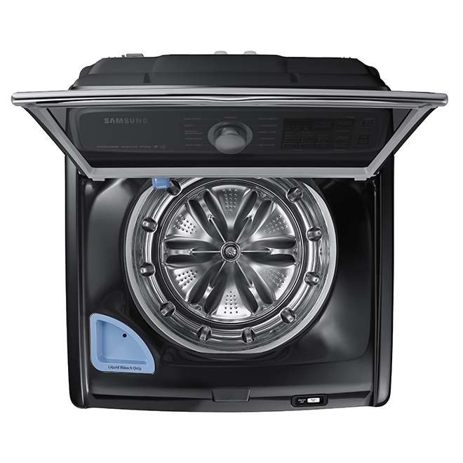 Samsung Top-Load Washer - 5.8 cu. ft. - Black SS