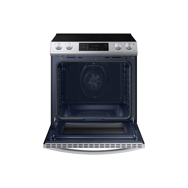 Samsung Convection Range - 30-in - 6.3 cu ft - Slide-In - Stainless Steel