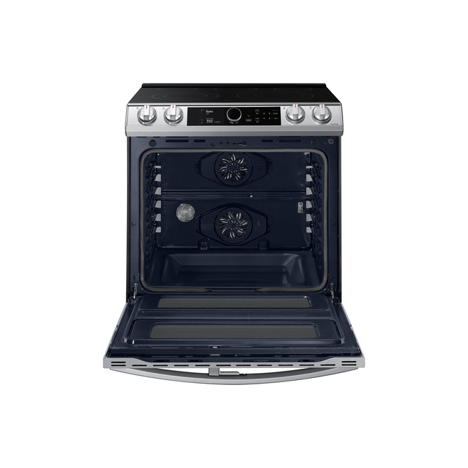 "Samsung Slide-in Range - Double Oven - Air Fry - Convection - 30"" - 6.3 cu. ft. - Stainless Steel"