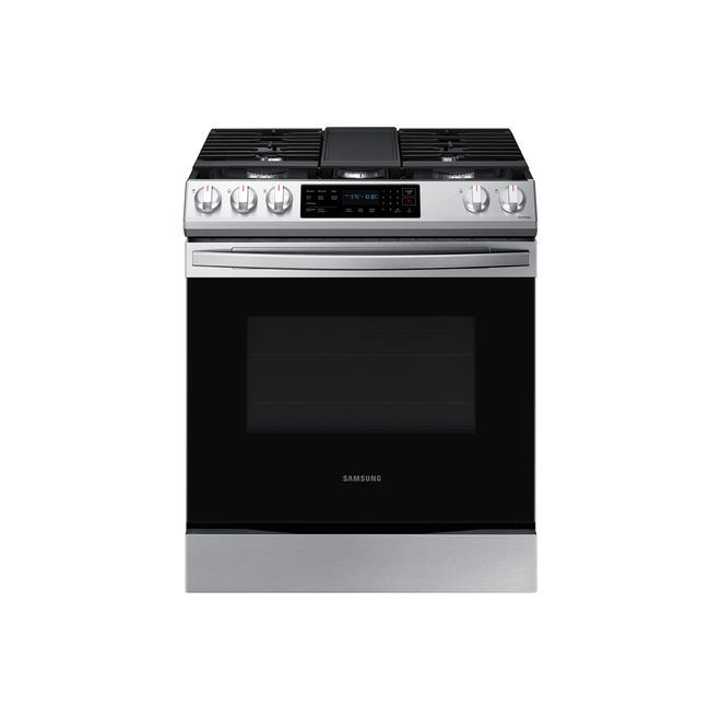 Samsung Slide-in Gas Range - Simple Oven - Convection - Freestanding - 6.0 cu. ft. - Stainless Steel