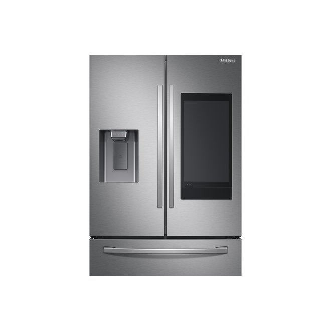 Smart French-Door Refrigerator Samsung - FamilyHub - 26.5 cu ft - Stainless Steel