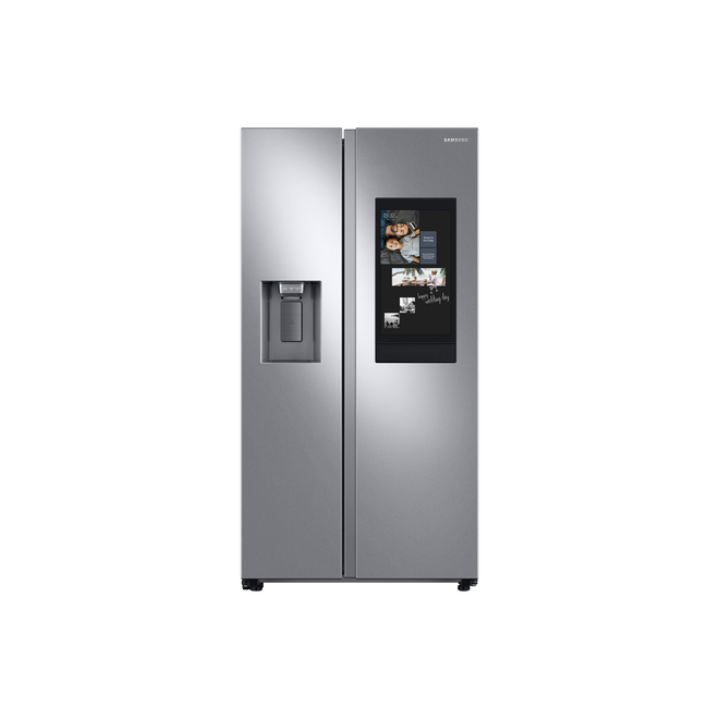 Réfrigérateur côte-à-côte Samsung, profondeur de comptoir, 21,5 pi³, FamilyHub(MD), inox