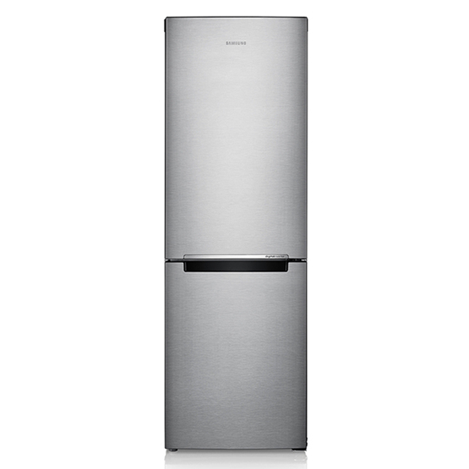 "Samsung - Bottom Freezer Refrigerator - 11.3 cu. ft. - 24"" - Stainless Steel"