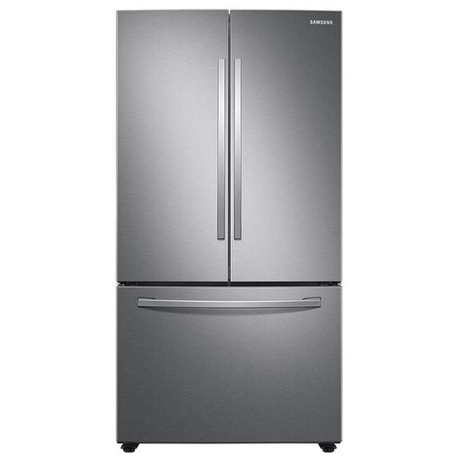 Réfrigérateur à portes françaises Samsung avec machine à glace, 36 po, 28,2 pi³, acier inoxydable