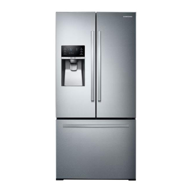 Samsung French Door Refrigerator with SpaceMax(TM) and Ice Maker - 33-in - 25.5 cu. ft. - Stainless Steel