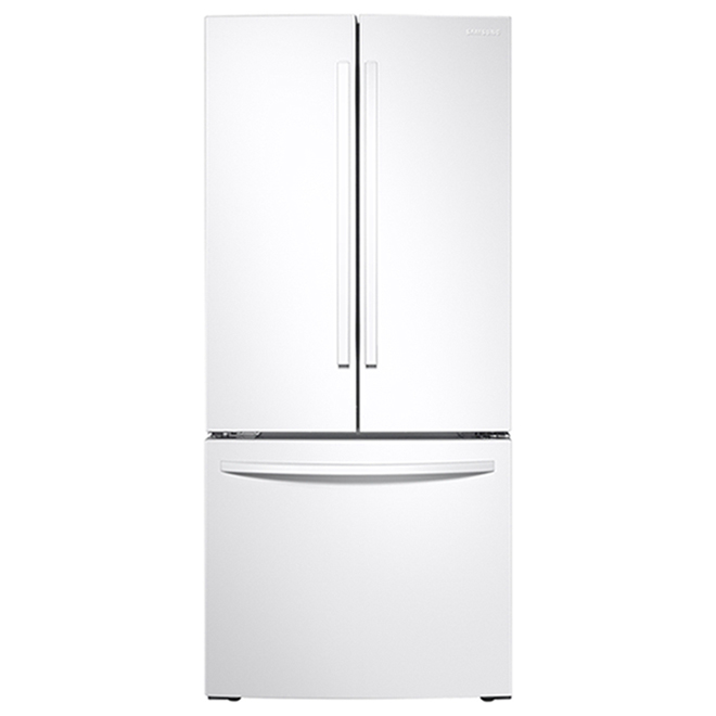 Samsung French Door Refrigerator with Pantry Drawer - 21.8 cu. ft. - 30-in - White