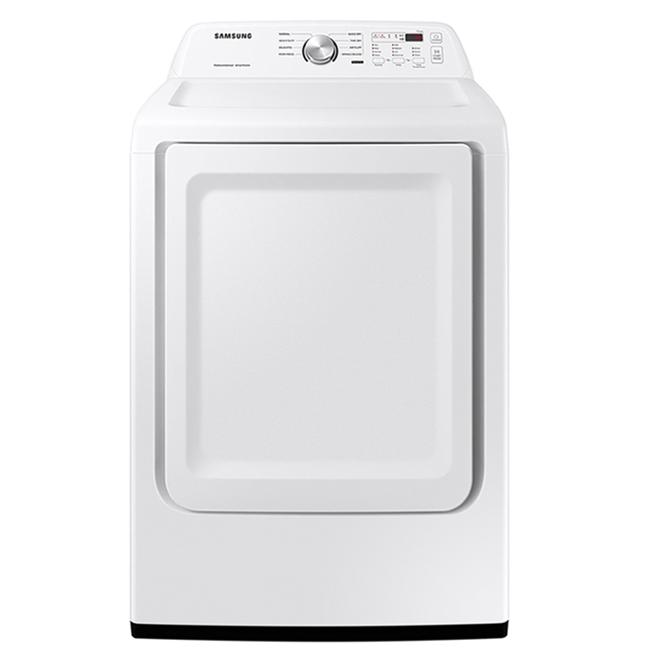 Sécheuse électromécanique Samsung de 7,4 pi³, blanc