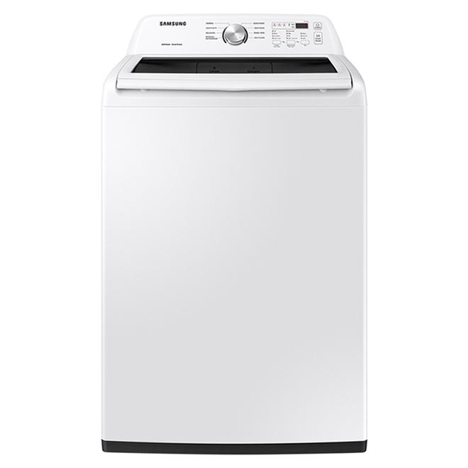 Laveuse à chargement par le haut Samsung, 5,2 pi³, 2,7 po, blanc