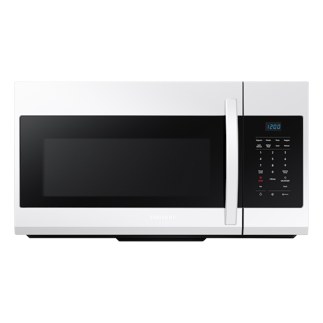 Samsung Over-The -Range Microwave 1.7 Cft White