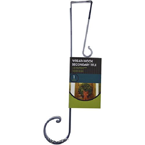 Crochet pour couronne, 20 lb, 13 po, acier