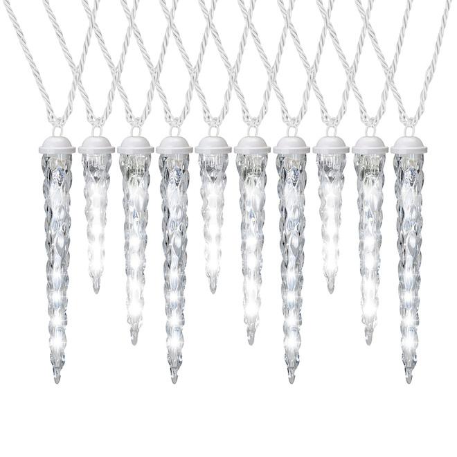 GemmyShooting Star Light String - 10 LED Lights - White