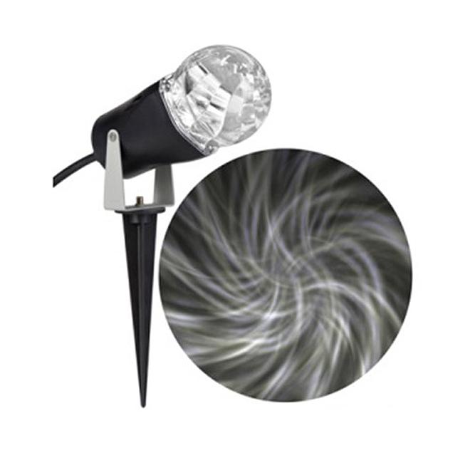 Stake Light Projector - LED - Kaleidoscope - White