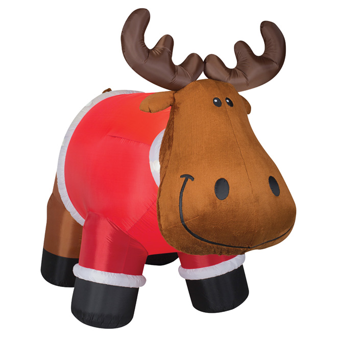 """Outdoor Airblown Inflatable Decoration - 77.55"""" - Moose"""