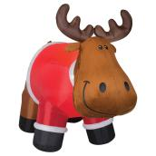 "Outdoor Airblown Inflatable Decoration - 77.55"" - Moose"