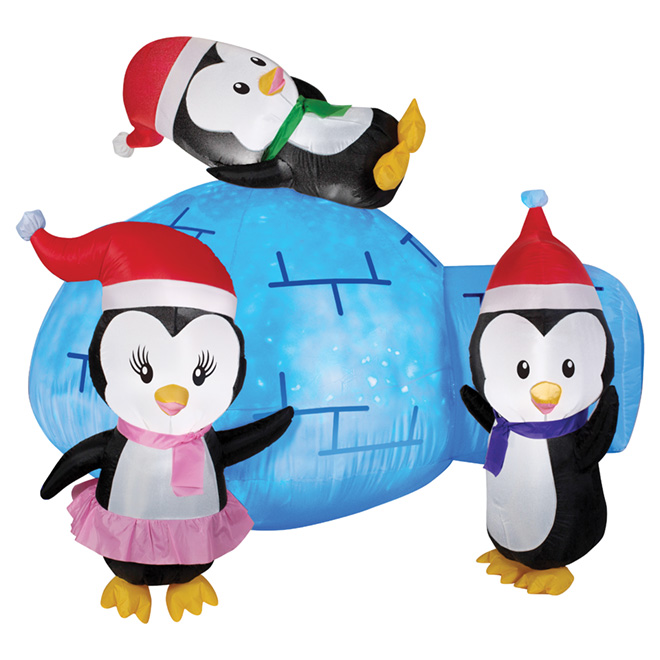 """Outdoor Airblown Inflatable Decoration - 54.33"""" - Igloo"""