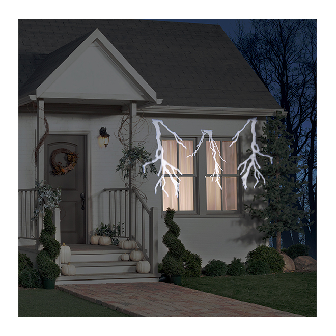 Halloween Thunderbolt Projector with Sound