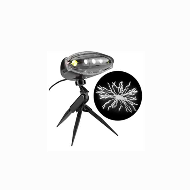 ElectroPlasm Lightshow Projector with Sound - LED