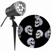 Multiple Skulls Image Projector - White