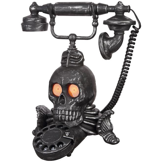 Gemmy Animated Skull Phone