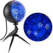 Projecteur extérieur, kaléidoscope, rafale de neige