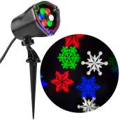 Projecteur, tourbillon de neige, DEL, multicolore