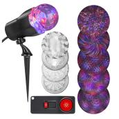 Exterior Projector with Remote - 75 functions - Multicolour