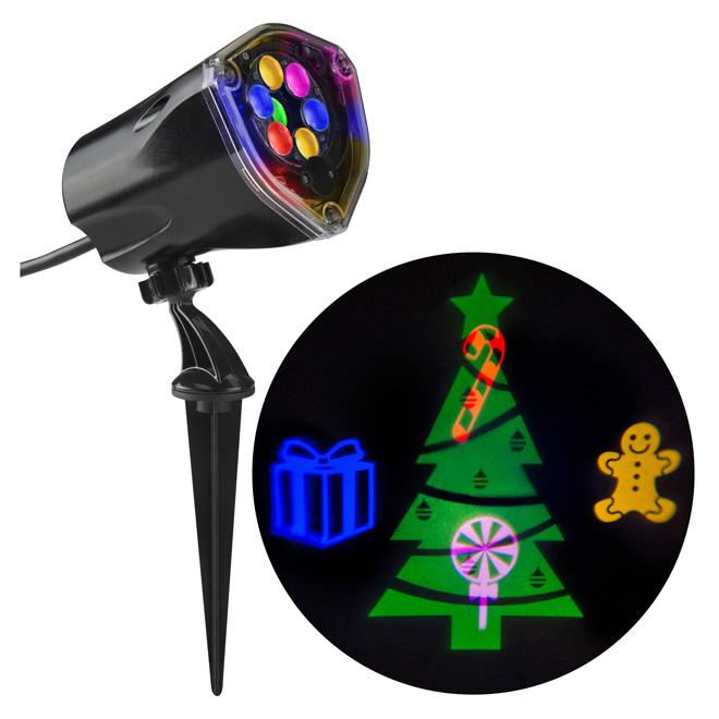 "Christmas Projector - 11.81"" - Plastic - Multicolour"