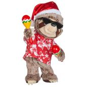 Plush Animated Maracas Sloth - 7'' x 13''