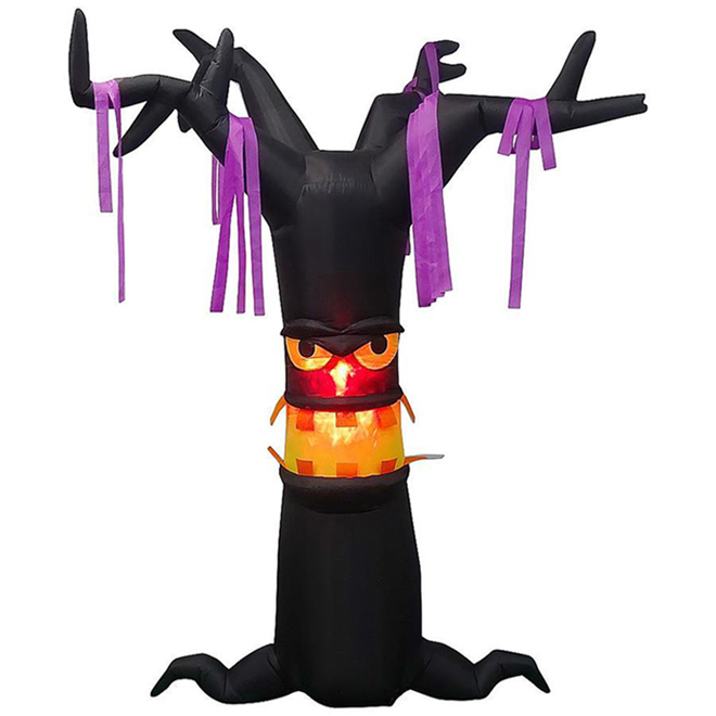 Gemmy Inflatable Spooky Tree - Polyester 11.81-in x 11.81-in x 11.81-in - Black
