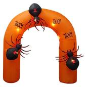 Gemmy Inflatble Arch With Spiders - Polyester - 11.81-in x 11.81-in x 13.78-in