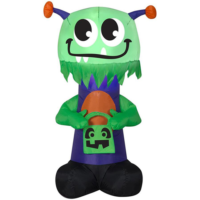 Gemmy Inflatable Monster - Fabric - 5.11-in x 5.11-in x 9.84-in