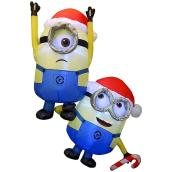 Inflatable Hanging Minions with LED Lights