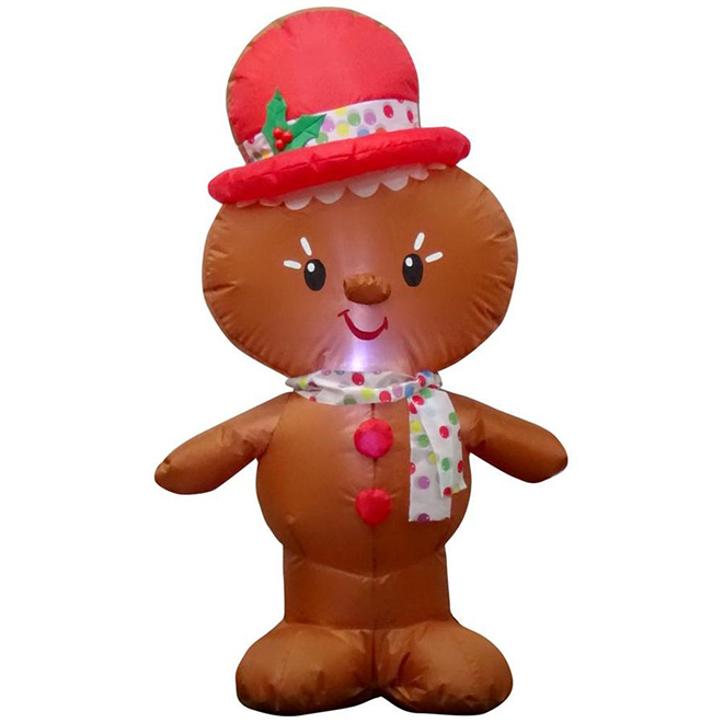 Gemmy Inflatable Gingerbread