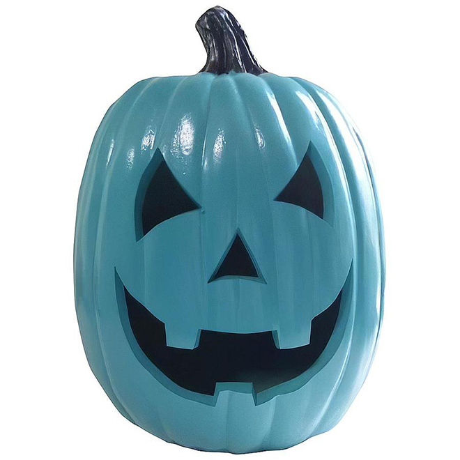 Holiday Living Jack-O-Lantern - 12-in - Teal