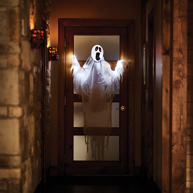 Holiday Living Hanging Ghost - 3-ft - White