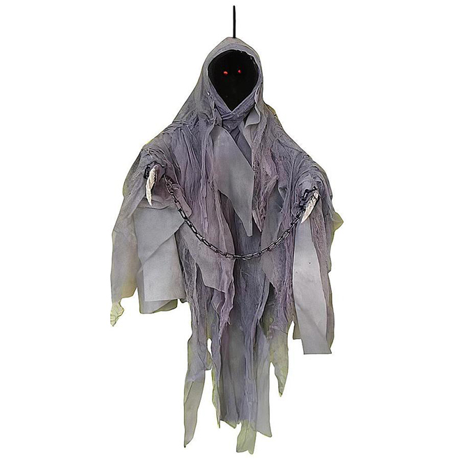 Holiday Living Hanging Decoration - Faceless Ghost - Animated