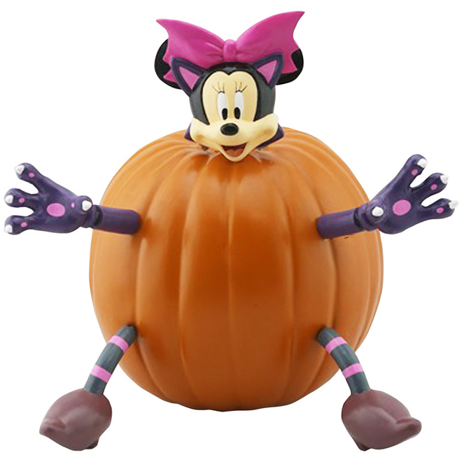 Minnie Mouse Chat Holiday Living Trousse Pour Citrouille D Halloween 225052 Rona