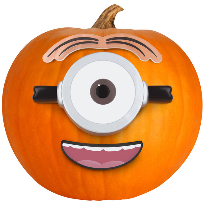 Universal - Stuart The Minion Push-in Pumpkin Decorating Kit