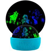 Disney Frozen 2 Christmas Lightshow Projection -Tabletop Shadow Lights - 6.6-in - Green/Blue
