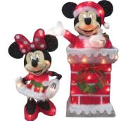 Disney - Mickey And Minnie - 3D Sculpture - 12.5-in x 12-in x 18.3-in