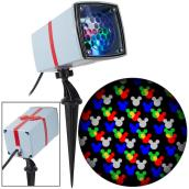 Disney Holiday Lightshow Projection MotionMosaic Spotlight - Mickey Mouse - 8-in - Multicolour