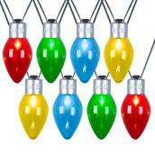 Jeu de lumières de Noël géantes Gemmy, C7, multicolore