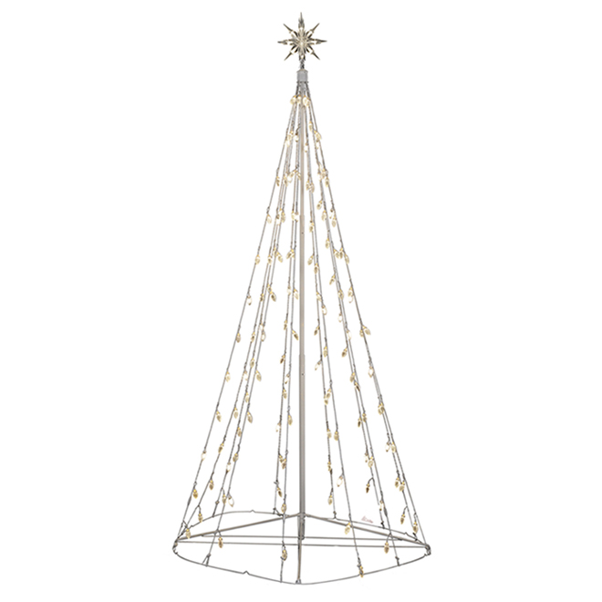 Gemmy SimpliciTree Diamond Sparkle Colossal Lighted Tree - LED - 72-in