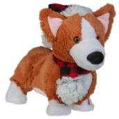 Gemmy Plush Animated Corgi - Holiday Living - 11.8-in