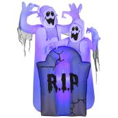 Gemmy 4.5-ft Inflatable Ghosts with Tombstone