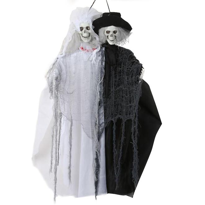 Holiday Living Skeleton Bride and Groom