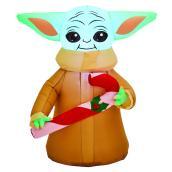 Gemmy 3.5-ft White Light Stars Wars Child Xmas Inflatable