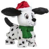 Gemmy 1-Pack Multicolor Singing Animated Dalmatian Plush
