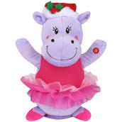 Gemmy 1-Pack Multicolor Animated Musical Hippo